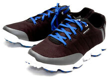 New ADIDAS CROSSFLEX Mens SIZE- 9 MEDIUM BLACK & BLUE Golf SHOES Q47097