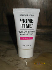 Bare Minerals Prime Time Foundation Primer .5 fl oz NEW