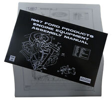 1967 Ford Mercury Lincoln Engine Equipment Assembly Manual