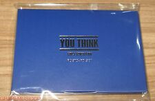 GIRLS' GENERATION SMTOWN COEX Artium OFFICIAL GOODS YOU THINK POSTCARD SET NEW