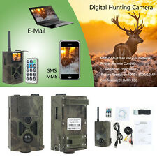 Suntek HC-500M HD Wildlife Hunting Trail Camera 12MP GPRS GSM SMS Infrared Hot