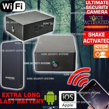 Anti Theft Device WIFI Camera Home Security System Motion Voice Activated no SPY