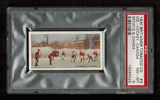 PSA 8 1930 ICE HOCKEY CARD British American Tobacco Sports and Games #3