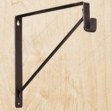 Closet Shelf & Oval Rod / Tubing Support Bracket chu530 Oil Rubbed Bronze