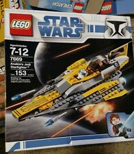 Lego Star Wars The Clone Wars Anakin's Jedi Starfighter (7669) NEW UNOPENED