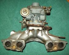 Fiat 128 rally / coupe carburettor / manifold  ( Weber 32DMTR 20) used