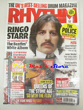 RHYTHM Magazine SEALED Mar 2008 + cd Ringo StarrThe Police Brian Bennett Weyler