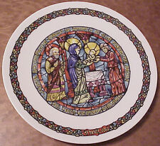 """La Purification French 8"""" Vintage Collector Plate A-.....Z-242"""
