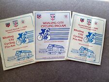 NEW BEDFORD MASSACHUSETTS Whaling City Cycling Pro-Am PROGRAM LOT Bike BICYCLE