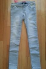 WOMEN 8 PAIRS LOW RIZE LIGHT GRAY FLEECE LINED SKINNY JEANS-SIZE 0 TO 14