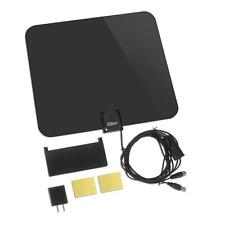 Esky Flat HD Digital Indoor Amplified TV Antenna with Amplifier 65 Miles Range