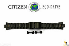 Citizen Eco-Drive B612-S078245 Black Ion Plated Stainless Steel Watch Band