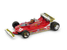 Ferrari 312 T4 G. Villeneuve 1979 #12 Retired Monaco GP + Driver 1:43 Model