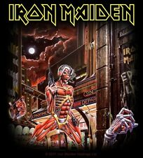 Sticker Iron Maiden Somewhere In Time Album Art Heavy Metal Music Band Decal