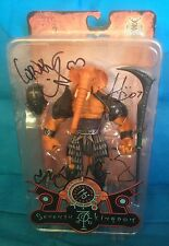 SEVENTH KINGDOM FOUR HORSEMEN SIGNED MACE OF BROGGAH ELEPHANT 7TH PREVIEWS