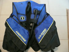 US Divers Aqualung Cousteau BCD Buoyancy Compensator Dive Vest - Size large