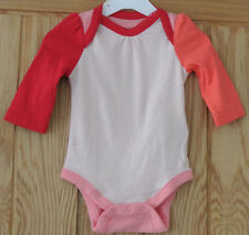 New Gap 100% cotton Long sleeve bodysuit 0-3 months