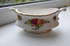 Royal Albert Old Country Roses Mustard Pot 1st Quality Bone China British Rare