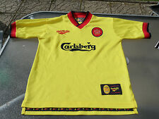 LIVERPOOL AWAY SHIRT 1997 LARGE BOYS EXCELLENT CONDITION