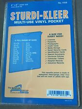 ADVANTUS 6X9 Pocket Sturdi Kleer Multi Use 50 Pack Flapess Ships Priority Today
