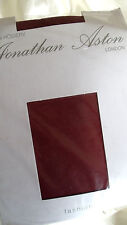 Jonathan Aston 40 Denier Smooth Opaque Pantyhose Tights Ruby Red Business Class