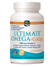 Ultimate Omega + CoQ10, 1000 mg, 60 Soft Gels - Nordic Naturals