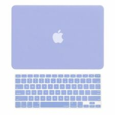 "2in1 Serenity Blue Matte Hard Case+Keyboard Skin for Macbook Air 13""A1369 /A1466"