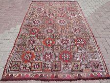 """Large Turkish Kilim Rug,Antalya Kilim 62,2"""" x102,3""""Floorrug,Arearug Kelim Carpet"""