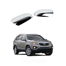 Chrome Side Mirror Cover Molding Trim K-344 for 2011 - 2013 Kia Sorento R