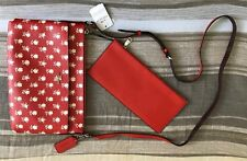 AUTHENTIC COACH EAST WEST CROSS-BODY BAG WITH POP-UP POUCH