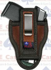 Taurus PT111 Pro G2 Versatile Ambi Tuckable IWB Leather Concealed Carry Holster