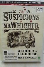The Suspicions of Mr Witcher by Summerscale: Unabridged Cassette Audiobook (GG2)