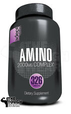 ADEPT NUTRITION - AMINO 2000mg COMPLEX 326 TABS - AMINO ACIDS - MUSCLE GROWTH