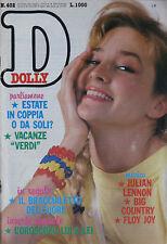 DOLLY 402 1986 Julian Lennon Big Country Billy Bragg Clannad Mackenzie Floy Joy