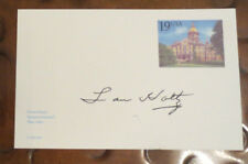 Lou Holtz Notre Dame Fighting Irish Coach signed autographed postcard