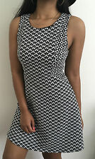 Urban Outfitters Cooperative Dress Black/White Print Size Small NWT $69
