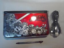 NINTENDO 3DS XL RED SUPER SMASH BROS WITH ACCSACCESSORIES £110