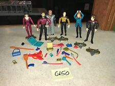 Playmates Star Trek Next Generation DS9 Collection Action Figure Set Lot #G150