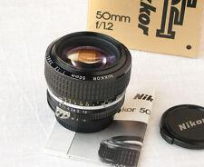 Nikon Nikkor 1,2/50 AI-S, como nuevo, artículo de colección