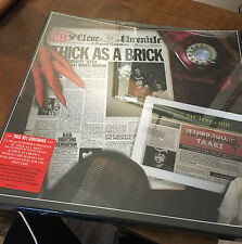 JETHRO TULL, THICK AS A BRICK 1 & 2 VINYL LP BOX SET AUDIOPHILE