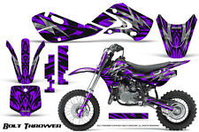 KAWASAKI KLX110 02-09 KX65 00-12 GRAPHICS KIT CREATORX DECALS BOLT THROWER PR