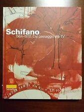 extremely rare Mario Schifano ++ Pop Art +++ Dal paesaggio alla TV 1964-70