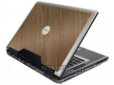 WOOD Vinyl Lid Skin Cover Decal fits Dell Precision M90 M6300 Laptop