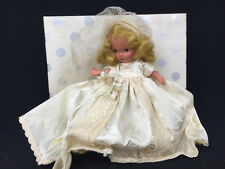 Vintage Nancy Ann Storybook Doll Family Series Bride 86 Blonde Bisque Pudgy