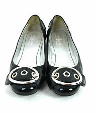 THE ORIGINAL CAR SHOE BLACK GENUINE PATENT LEATHER SIZE 8.5-9 / 39 MADE IN ITALY