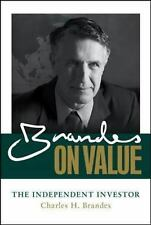 Brandes on Value: The Independent Investor Brandes, Charles Books-Good Condition