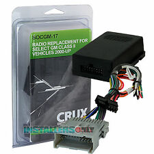 CHEVROLET CAR STEREO/ RADIO REPLACEMENT WIRING INTERFACE, WIRE HARNESS SOCGM-17