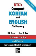 NTC's Compact Korean and English Dictionary (Paperback 1995)