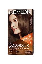 2 Pack Revlon ColorSilk Beautiful Permanent Hair Color (40) Medium Ash Brown