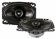 "MEMPHIS 15-PR462V2 +2YR WRNT 4X6"" 120W 2 WAY 4 OHM CAR AUDIO STEREO SPEAKERS SET"